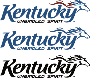 Kentucky Unbridled Spirit Logo Vector