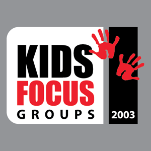 Kids Focus Group Logo Vector
