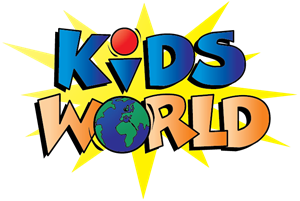 Kids World Logo Vector