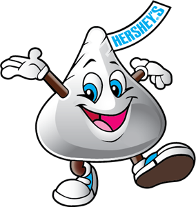 Kiss of Hershey´s Logo Vector