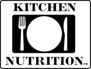 Kitchen Nutrition Logo Vector