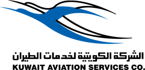 Kuwait aviation service co Logo Vector