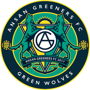 K-League Ansan Greeners FC Logo Vector