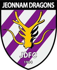 K-League Jeonnam Dragons FC Logo Vector