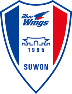 K-League Suwon Blue Wings Logo Vector