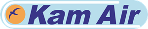 Kam air airlines Logo Vector