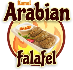 Kamal Arabian Food Logo Vector