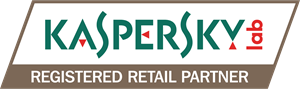 Kaspersky Registered Retailer Partner Logo Vector