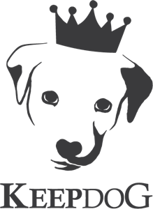 Keep Dog Logo Vector
