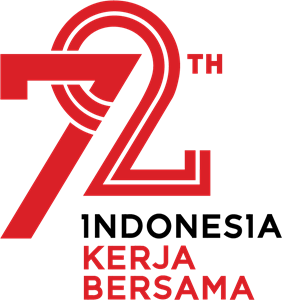 kemerdekaan RI ke 72th Logo Vector