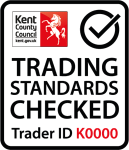 Kent Country Council Trading Standards Checked Logo Vector