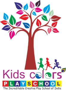 Kids Colour Play School Logo Vector