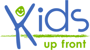 Kids Up Front Logo Vector