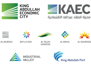 King Abdullah Economic City Bundle Logo Vector
