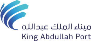 King Abdullah Port Logo Vector