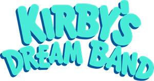 Kirby's Dream Band Logo Vector