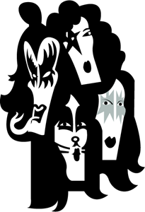 KISS band Logo Vector