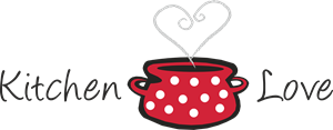 Kitchen Love Logo Vector
