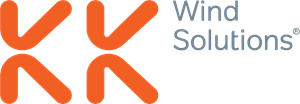KK Wind Solutions Logo Vector