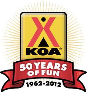 KOA 50 Years of Fun 1962-2012 Logo Vector