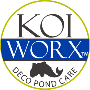 KOI WORX DECO POND CARE Logo Vector