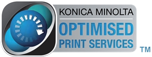 Konica Minolta Optimised Print Services Logo Vector