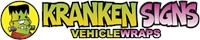 Kranken Signs Vehicle Wraps Savannah GA Logo Vector