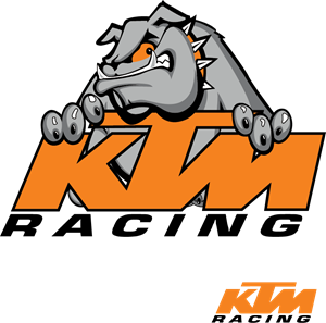KTM Racing Logo Vector