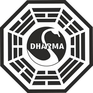 LOST The Dharma Initiative - Station 3 - The Swan Logo Vector