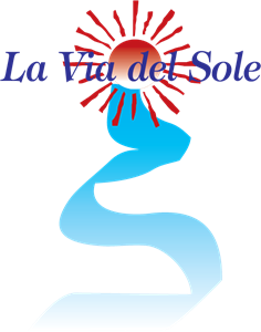 La Via del Sole Logo Vector