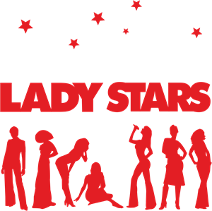 Lady Stars Logo Vector