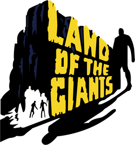 Land of The Giants Logo Vector