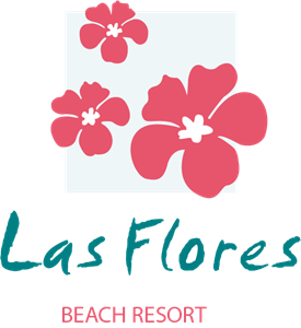 Las Flores Beach Resort Logo Vector