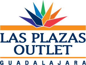 Las Plazas Outlet Logo Vector
