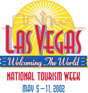 Las Vegas Welcoming The World Logo Vector