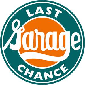 Last Chance Garage Logo Vector