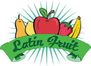 Latin Fruit Logo Vector
