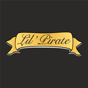 Lil' Pirate Logo Vector