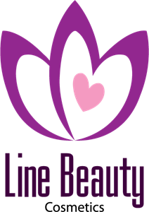 Line Beauty B Logo Vector