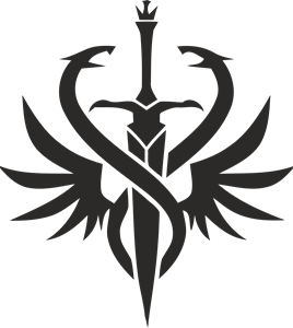Lineage 2 Hell Knight Class Logo Vector