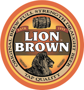 Lion Brown Logo Vector