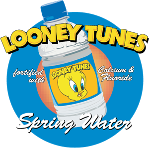 Looney Tunes Spring Water Logo Vector