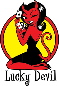 Lucky Devil Logo Vector