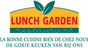 Lunch Garden Logo Vector