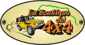 La Boutique del 4x4 Logo Vector