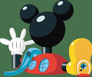 la casa de mickey mouse logo
