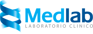 Laboratorio Clinico Medlab Logo Vector