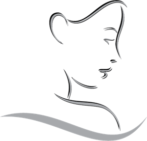 Lady Face Logo Vector