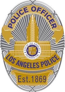 Lapd Badge Logo Vector Eps Free Download