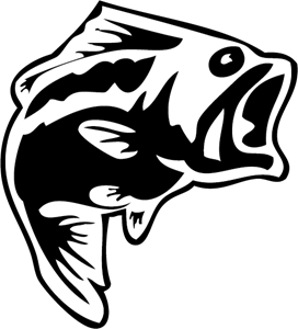 large mouth bass Logo Vector